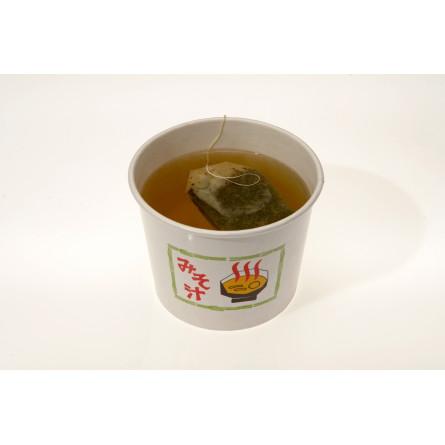 Tè verde giapponese caldo